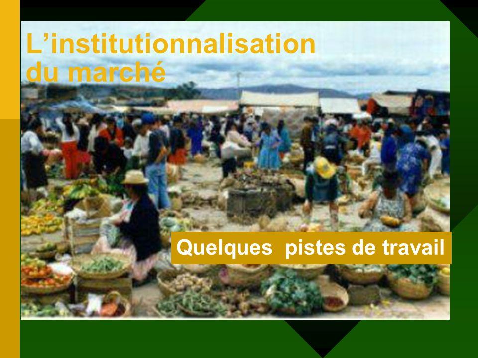 Les notions au programme 2.La régulation économique et sociale 2.1.