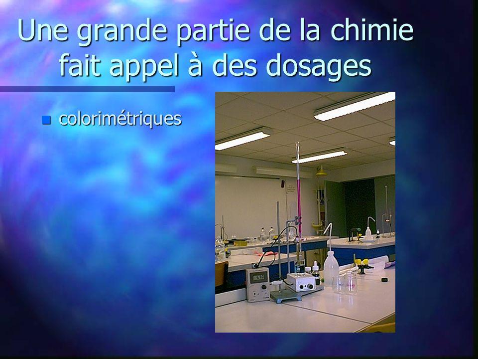 Chimie w Les ions dans les boissons w Arômes, colorants et conservateurs w L acidité dans les boissons w Les sucres et les édulcorants