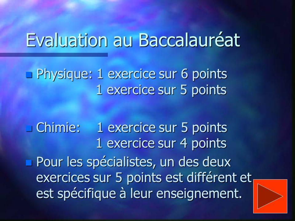 Aspect général dune séance de 2 h + 1 h 30 min de manipulations, la théorie est vue à travers les expériences + 30 min de correction d exercices