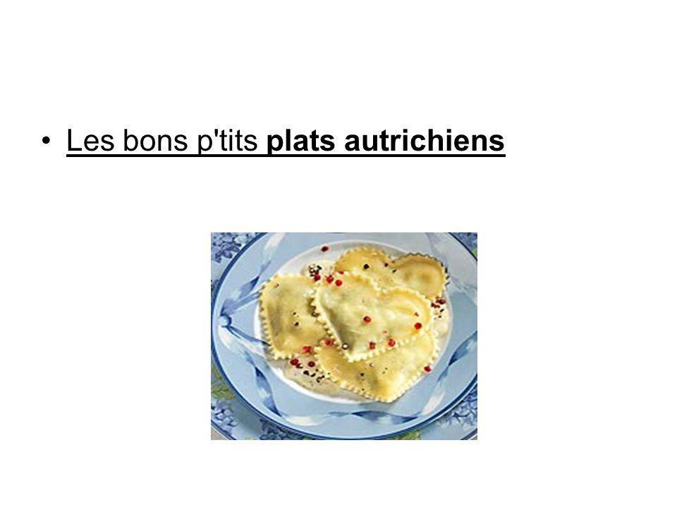 Les bons p'tits plats autrichiens