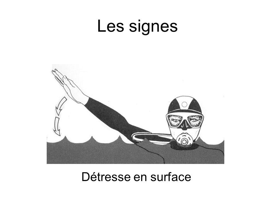 Les signes Détresse en surface