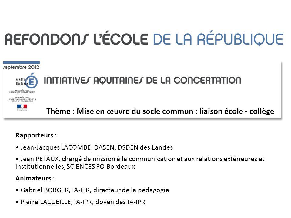 REFONDONS LECOLE DE LA REPUBLIQUE COLLÈGE DES CORDELIERS ET ÉCOLE PRIMAIRE XAVIER NAVARROT OLORON-STE-MARIE (64)