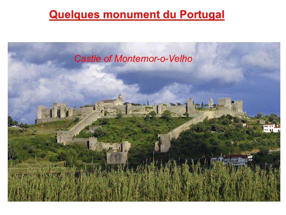 Quelques monument du Portugal Castle of Montemor-o-Velho