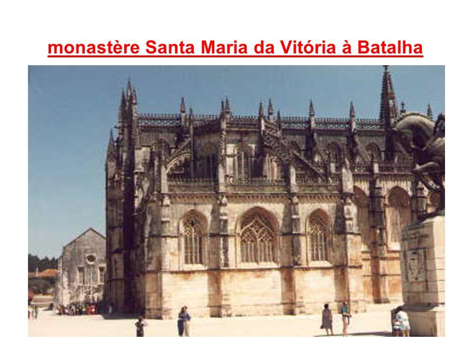monastère Santa Maria da Vitória à Batalha