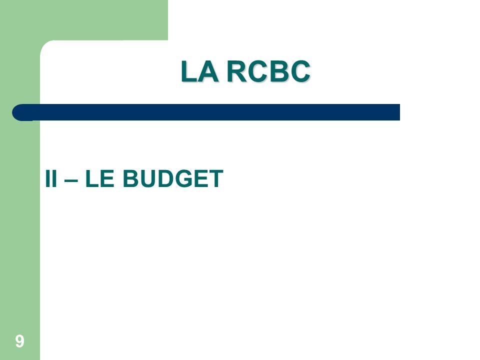 30 UNE POLITIQUE BUDGÉTAIRE PRÉALABLE Répartir le budget initial en cours entre les services généraux et spéciaux de la nouvelle structure budgétaire = maîtrise de la nouvelle structure avec un budget connu.