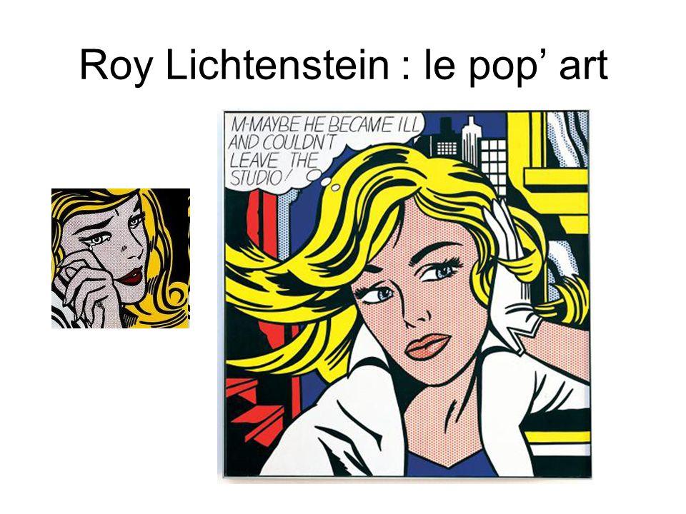 Roy Lichtenstein : le pop art