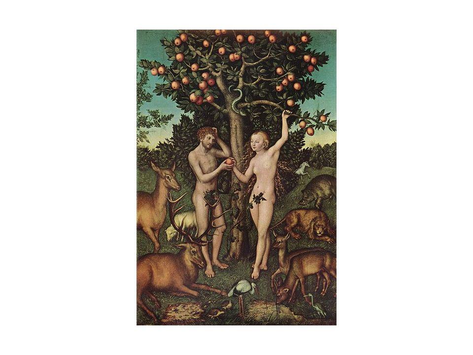 Lucas Cranach lancien, Adam et Eve – autre représentation pour sexercer à lire la relation au générique