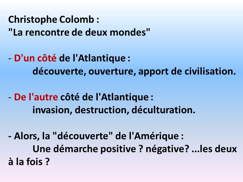 Christophe Colomb :