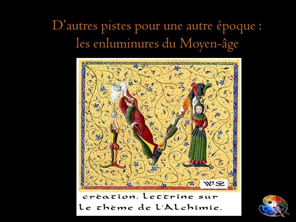 Dautres pistes pour une autre époque : les enluminures du Moyen-âge