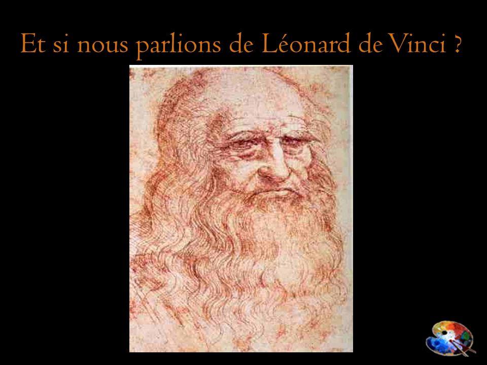 Et si nous parlions de Léonard de Vinci ?