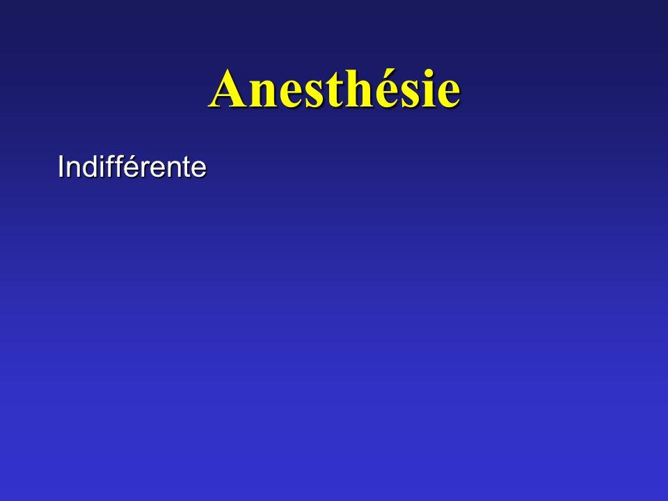Anesthésie Indifférente