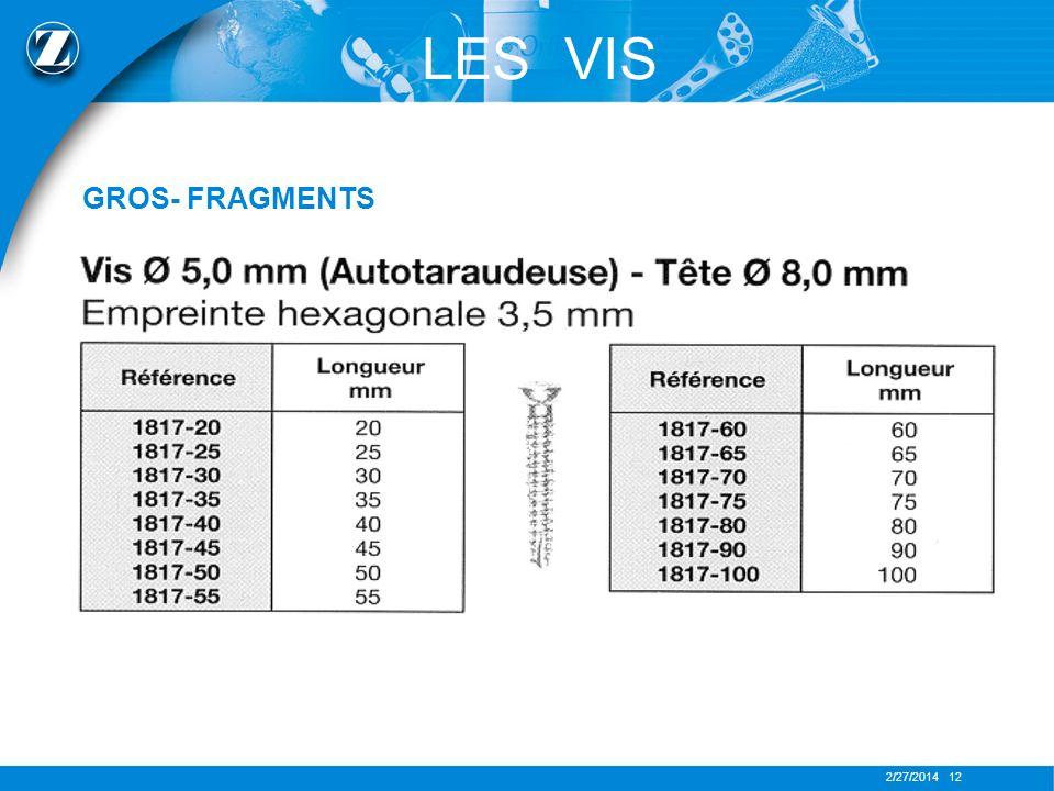 2/27/2014 12 LES VIS GROS- FRAGMENTS