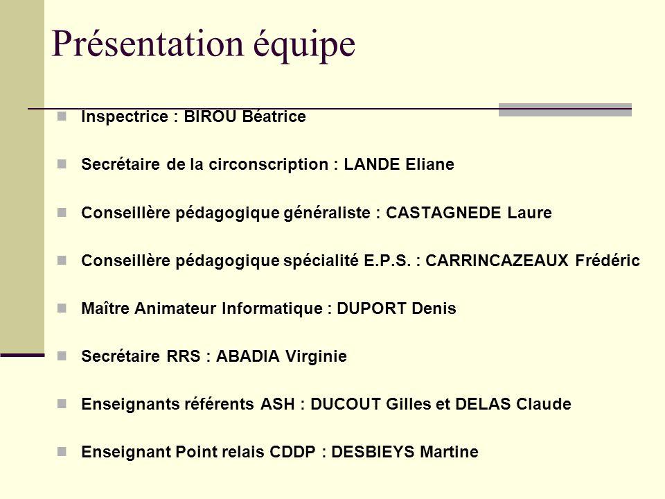 Le fonctionnement des écoles Base élèves Dossier suivi par Denis DUPORT
