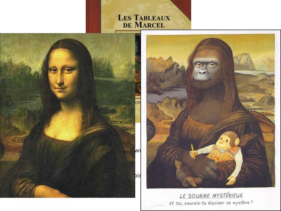Détournement de grandes œuvres picturales. Sous les traits de Marcel le singe, Anthony Browne nous emmène dans lunivers des grands peintres Point de d