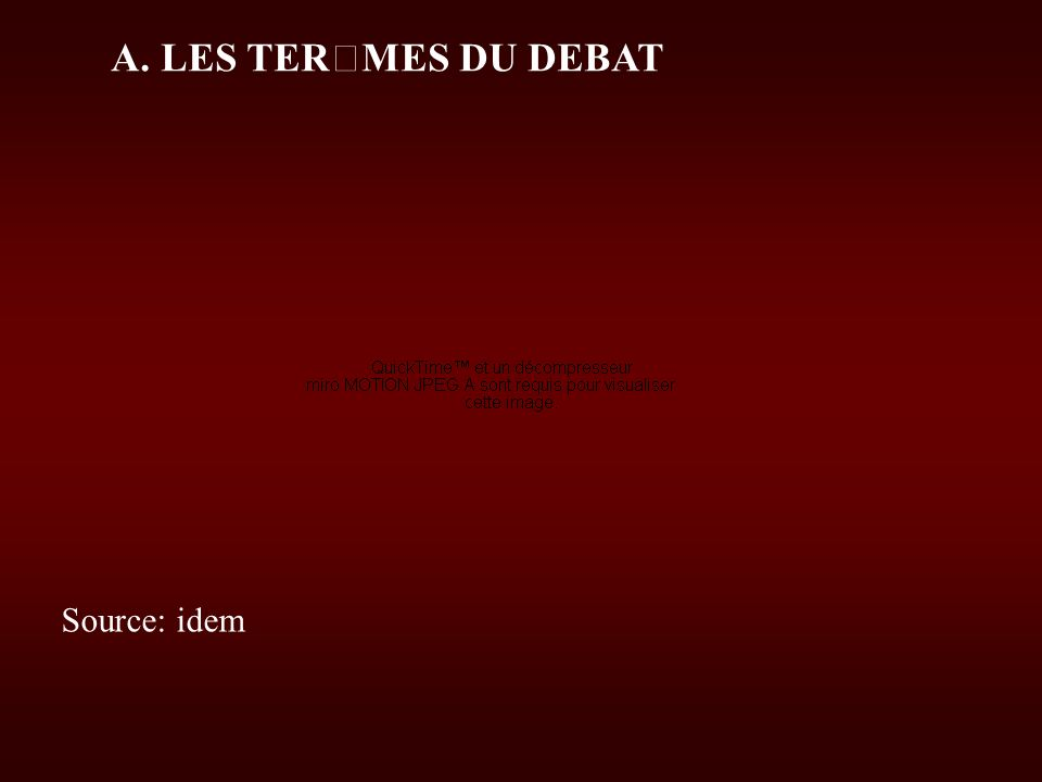 A. LES TERMES DU DEBAT Réunion débat à l occasion du « tour de France » de Serge Halimi pour présenter son livre « Les nouveaux chiens de garde » Sour