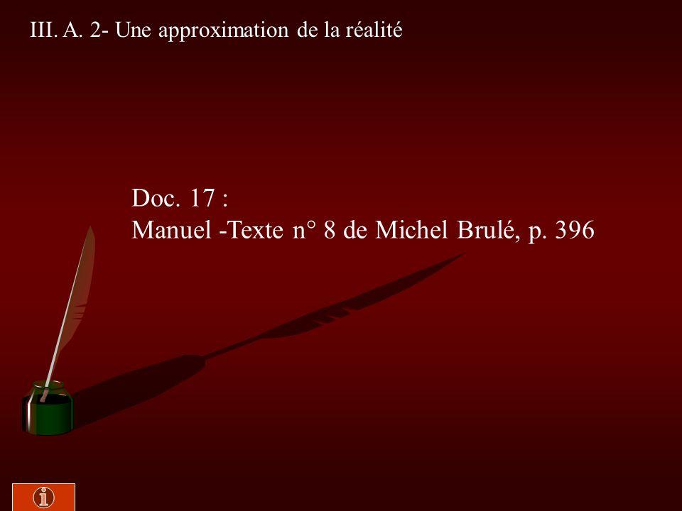 III. A. 1- Aux origines des sondages Doc. 16 : Manuel - texte n° 7 de Hélène Meynaud et Denis Duclos, p. 396