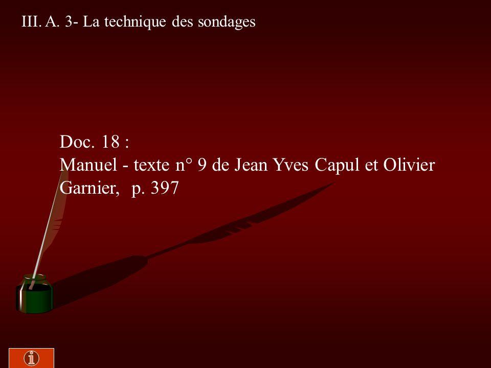 III. A. 2- Une approximation de la réalité Doc. 17 : Manuel -Texte n° 8 de Michel Brulé, p. 396