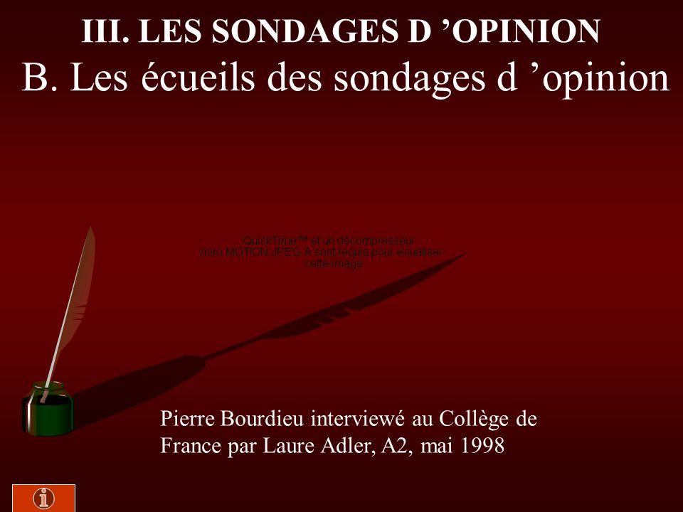 III. A. 3- La technique des sondages Doc. 18 : Manuel - texte n° 9 de Jean Yves Capul et Olivier Garnier, p. 397