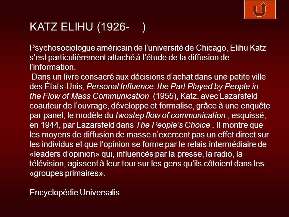 LAZARSFELD PAUL (1901-1976) )Né à Vienne, Paul Lazarsfeld est, comme Robert Merton, lun des quatre ou cinq sociologues de sa génération qui auront le plus fortement marqué lhistoire de leur discipline.
