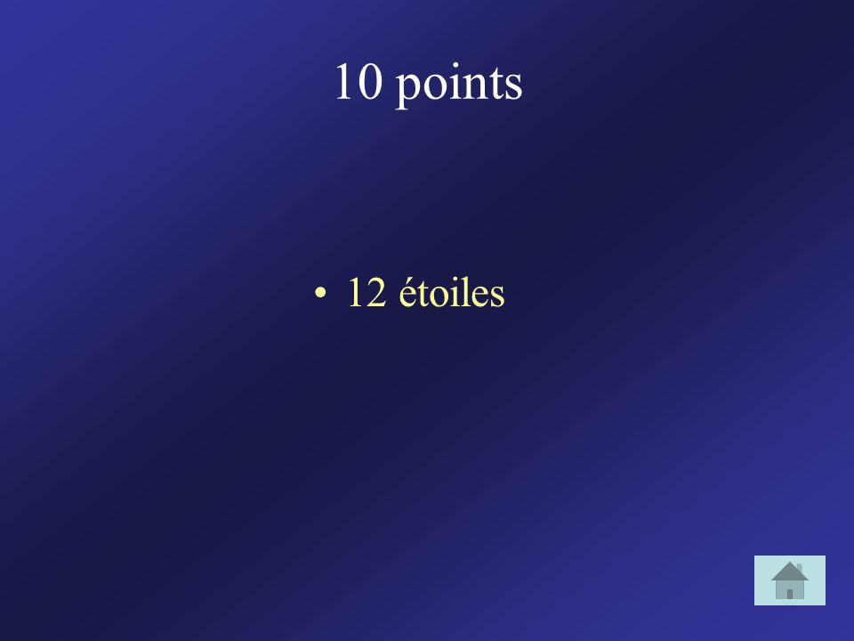 10 points 12 étoiles