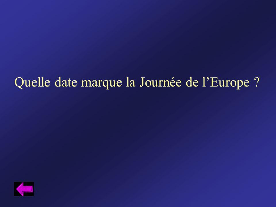 Quelle date marque la Journée de lEurope ?