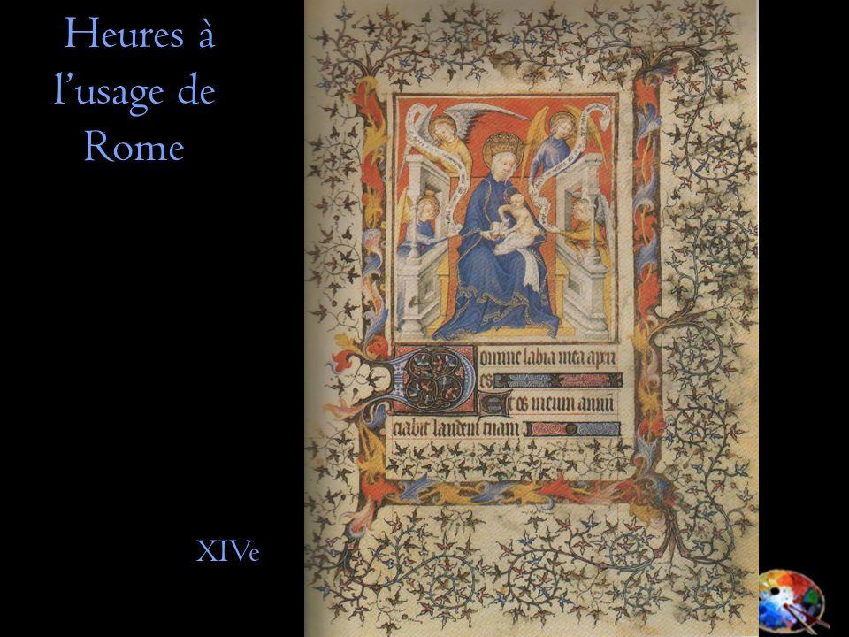 Heures à lusage de Rome XIVe