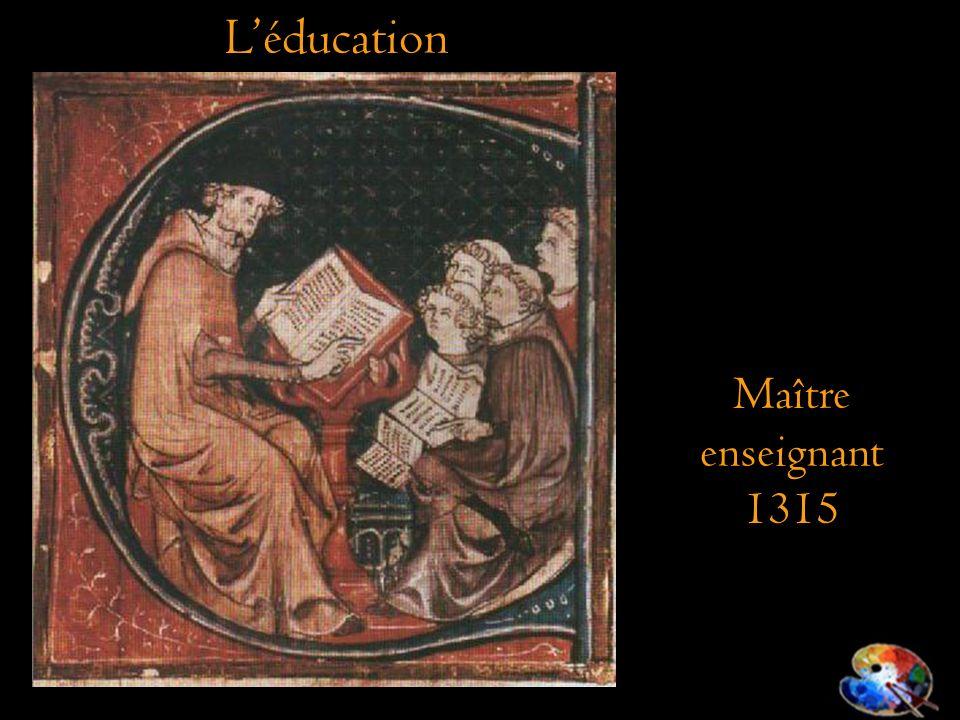 Maître enseignant 1315 Léducation