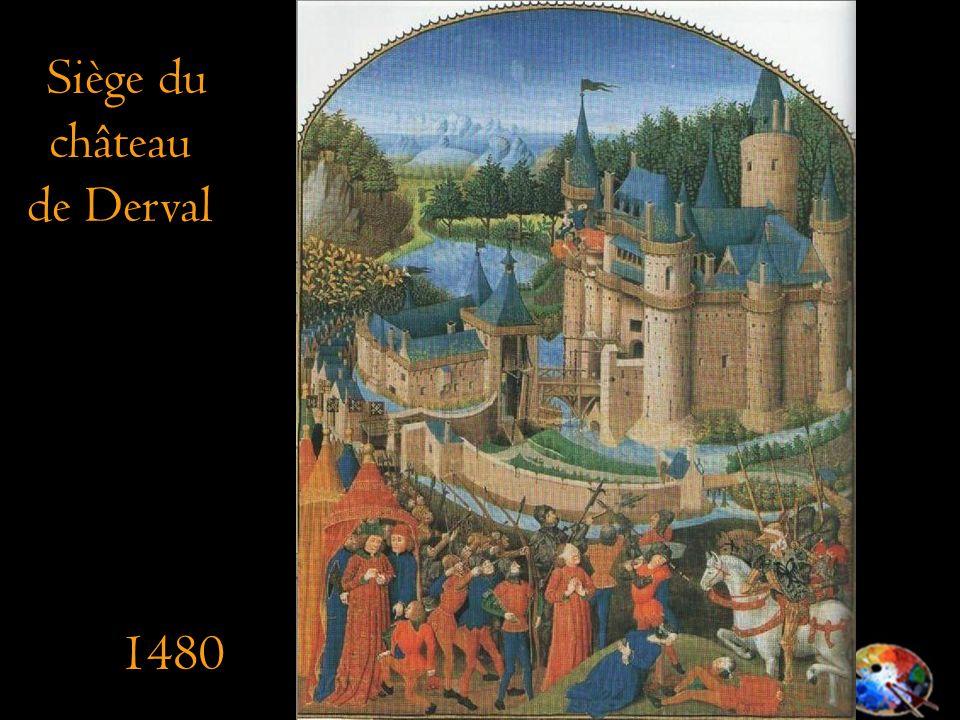 Siège du château de Derval 1480
