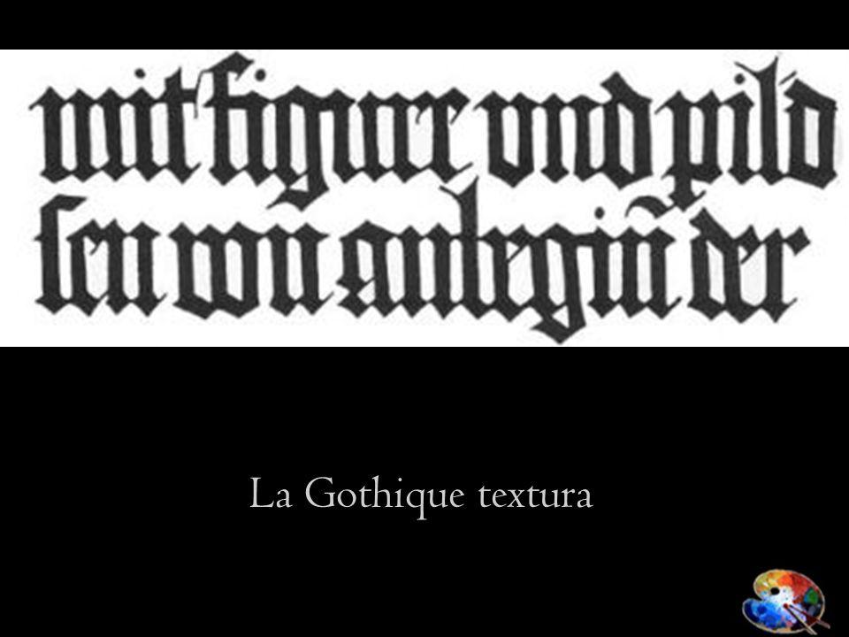 La Gothique textura