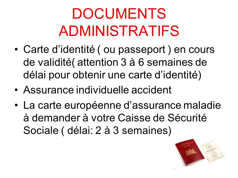 CONSEILS Il est vivement conseillé de souscrire une garantie annulation individuelle ( 9 par personne ou 7 par personne si la totalité du groupe y sou