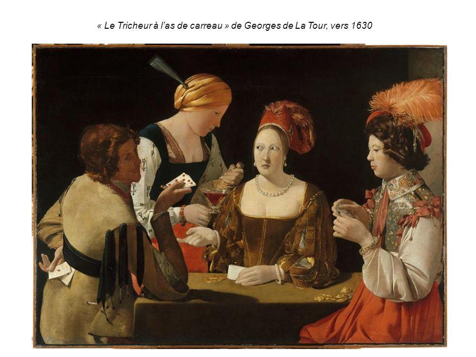 « Le Tricheur à las de carreau » de Georges de La Tour, vers 1630