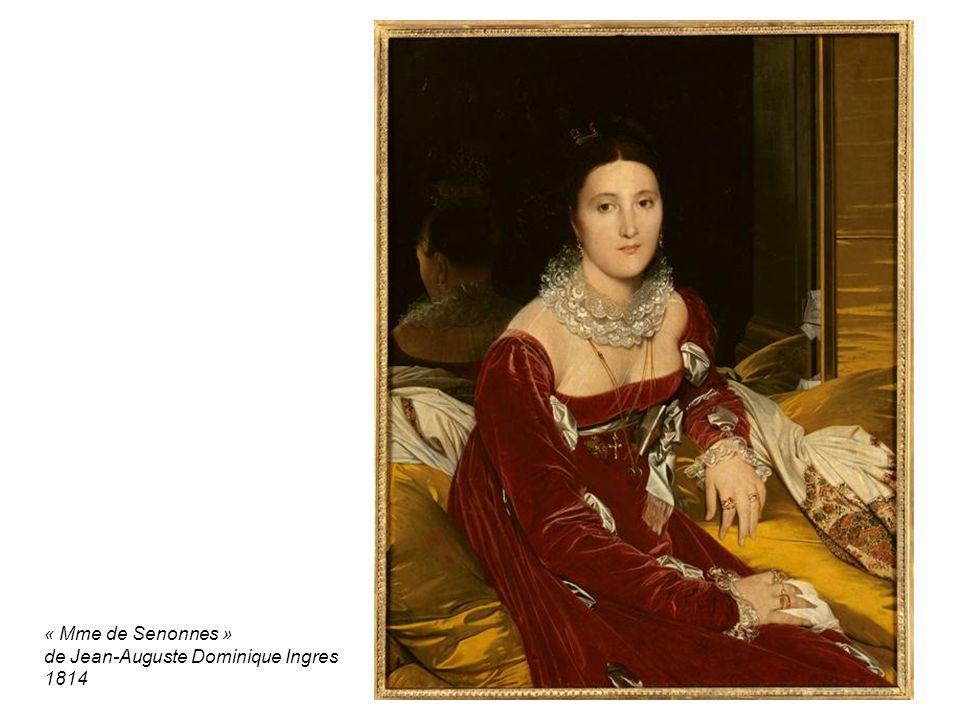 « Mme de Senonnes » de Jean-Auguste Dominique Ingres 1814