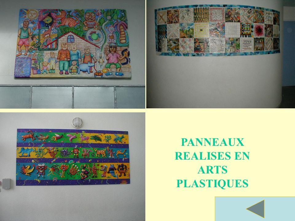 Panneaux réalisés par les élèves