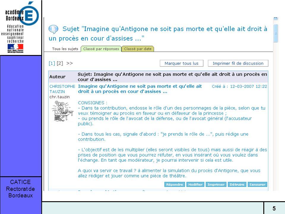 CATICE Rectorat de Bordeaux 16
