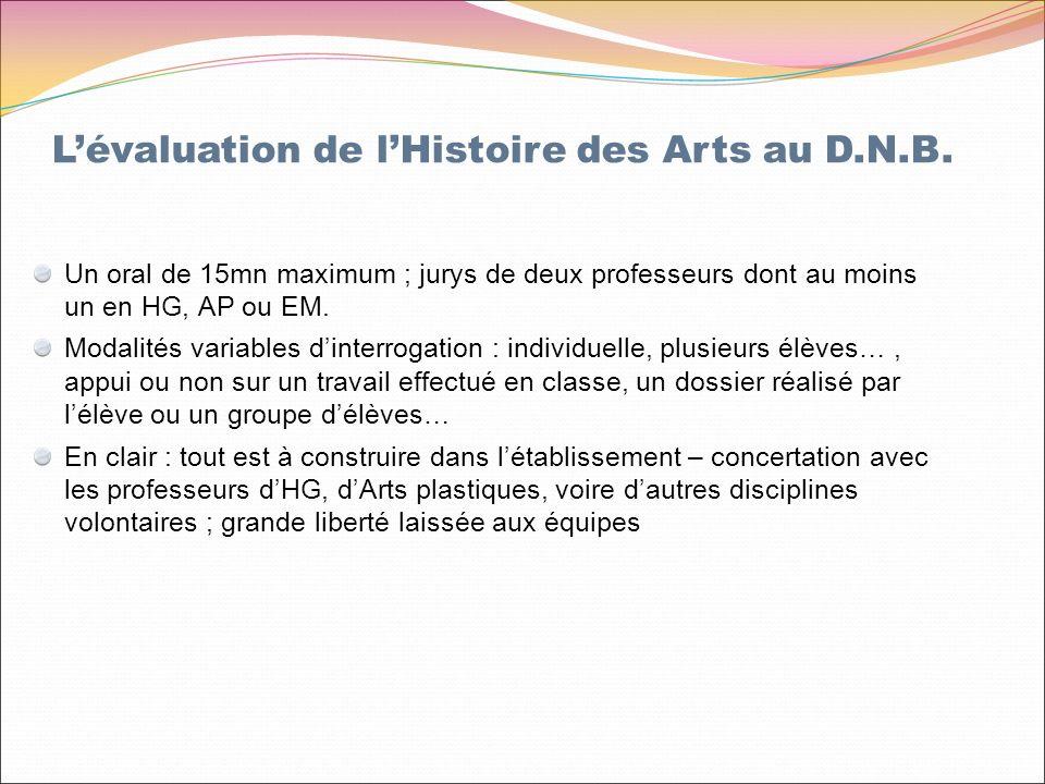 Un oral de 15mn maximum ; jurys de deux professeurs dont au moins un en HG, AP ou EM.
