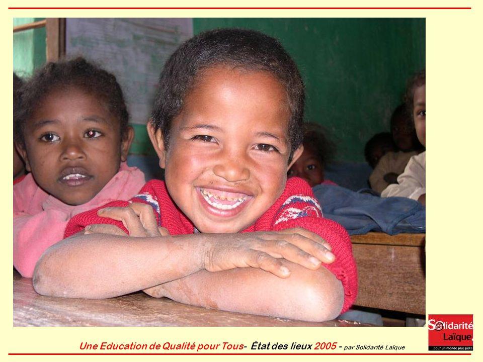 Une Education de Qualité pour Tous- État des lieux 2005 - par Solidarité Laïque