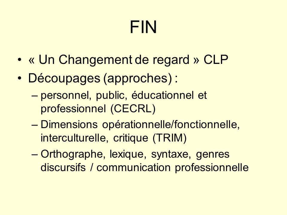 Y-a-t-il une langue française spécifique, utile et « utilitaire » pour la profession.