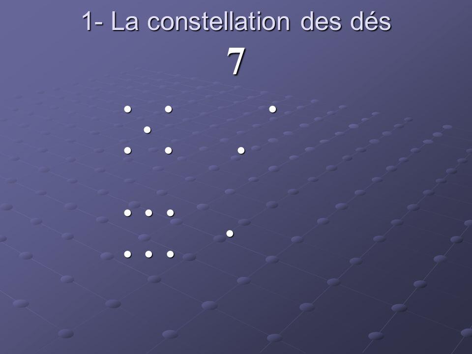 1- La constellation des dés 7