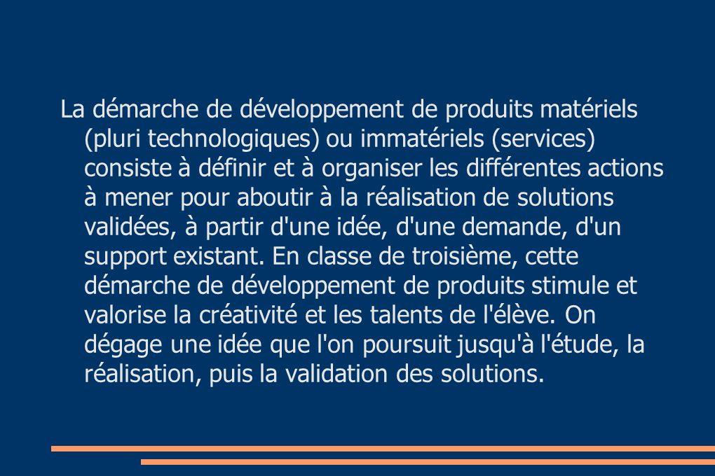 Mise en oeuvre pédagogique R2ALISER: - La réalisation et le dossier de synthèse des produits pluri technologique et service.