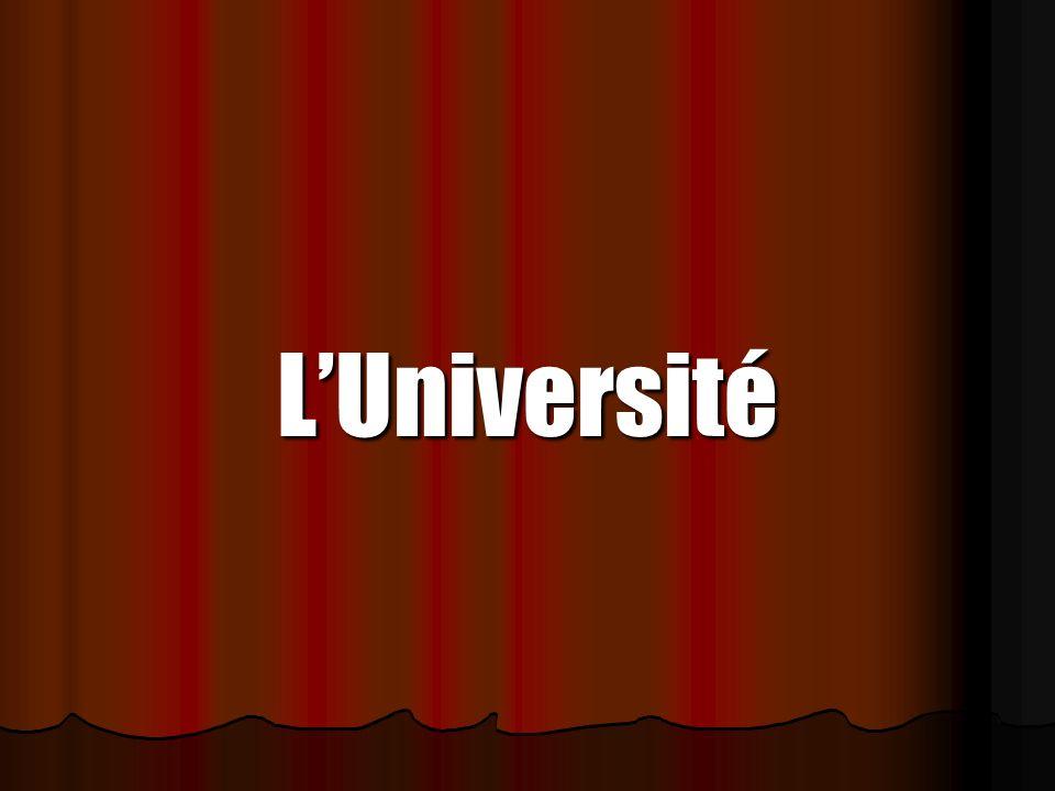 LUniversité