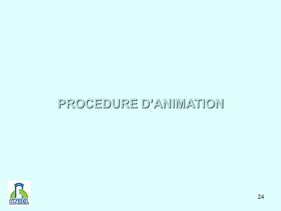 24 PROCEDURE DANIMATION