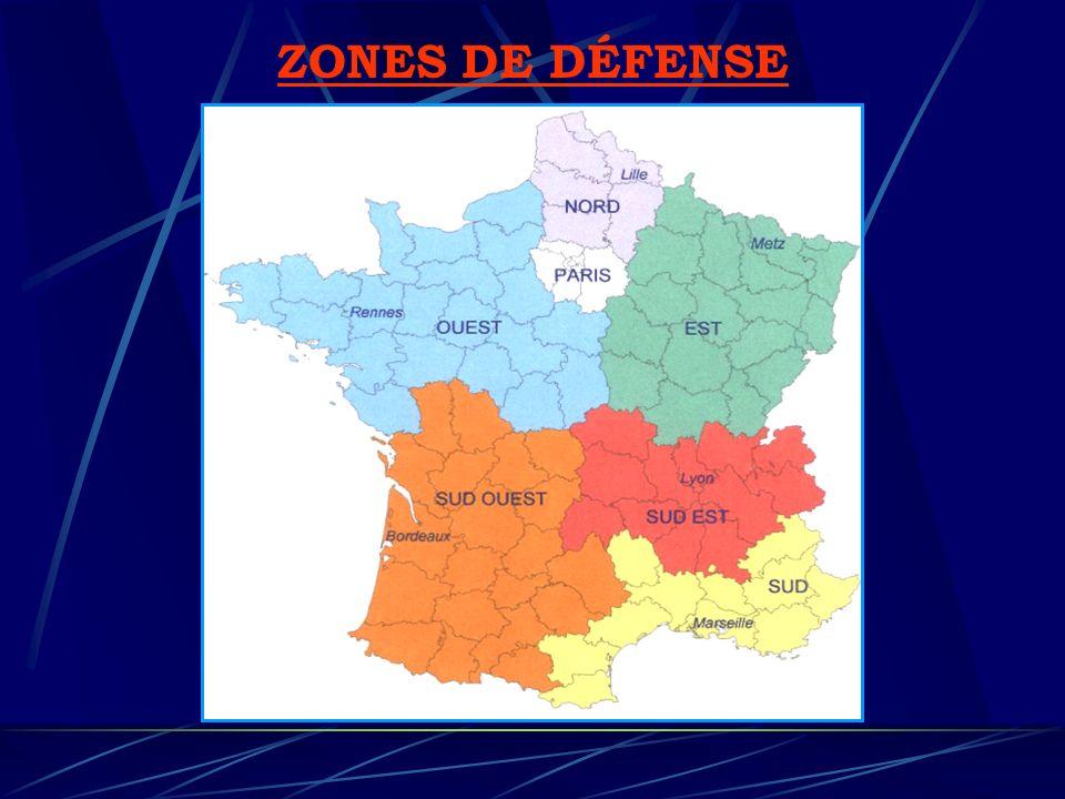 ZONES DE DÉFENSE
