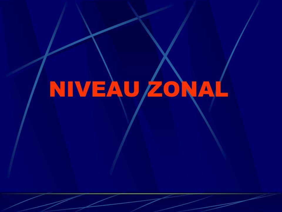 NIVEAU ZONAL