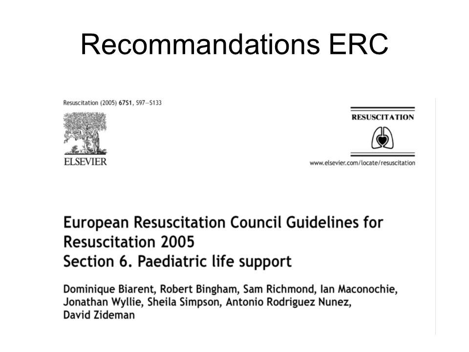 Recommandations ERC
