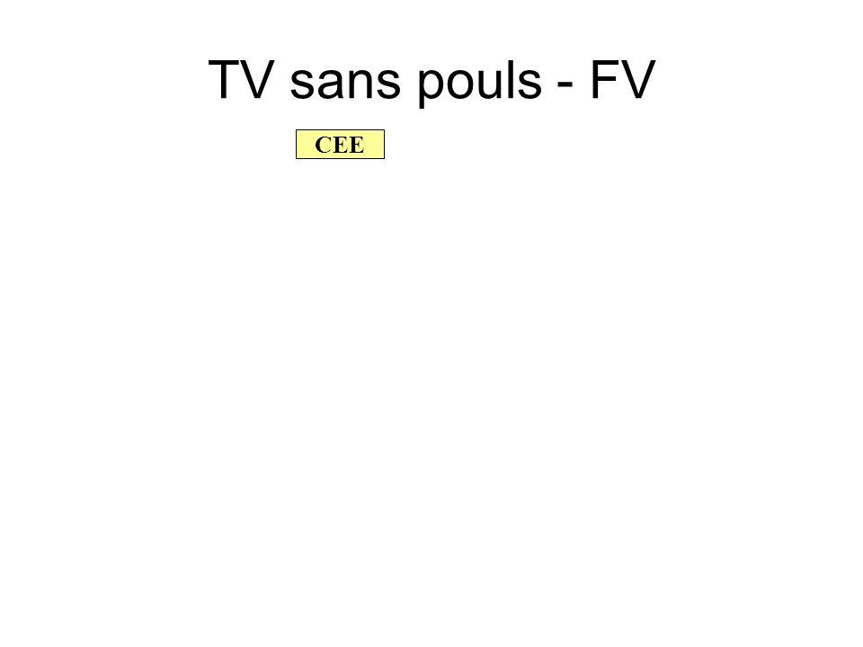 TV sans pouls - FV CEE