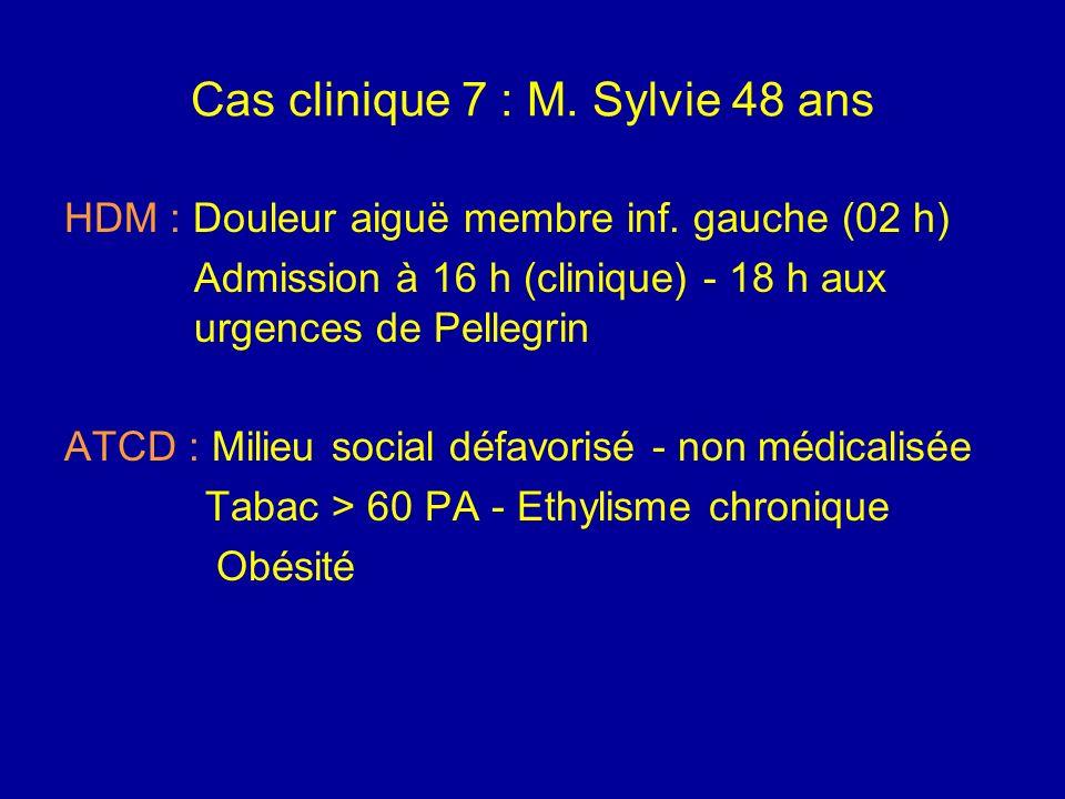Ischémie intestinale aiguë Traitement aux urgences symptomatique (mesure de réanimation) avant la laparotomie qui confirmera le diagnostic et permettr