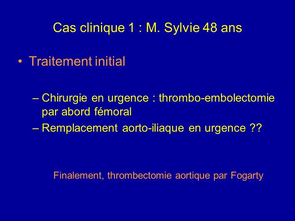 Cas clinique 1 : M. Sylvie 48 ans CAT ? URGENCE THERAPEUTIQUE Mise en condition : VVP de bon calibre Réhydratation, discuter alcalinisation Oxygénothé