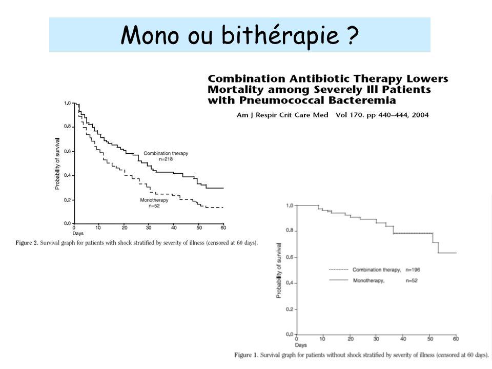 Mono ou bithérapie ?