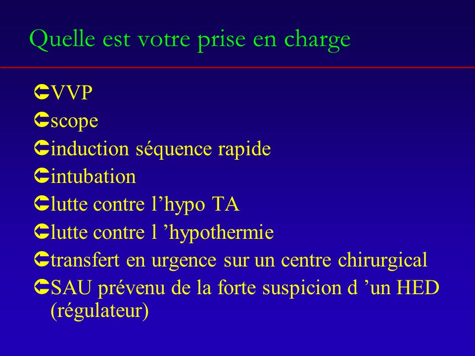 Monitorage ÛFC Ûsaturation Ûpression artérielle invasive Ûmesure de l Et CO2 Ûmesure de la pression intra craniène (GCS <8) Ûbilan entrée sortie hydrique horraire (sonde DH) Ûévaluation pupillaire /h Ûgaz du sang au moins /6h