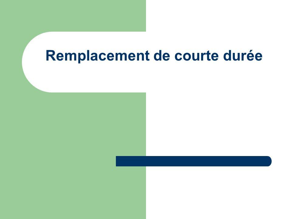 2 Plan Rappel des applications impactées Présentation du remplacement de courte durée Processus de création Processus de modification Prolongation Suppression Traitements collectifs Tables impactées par le RCD